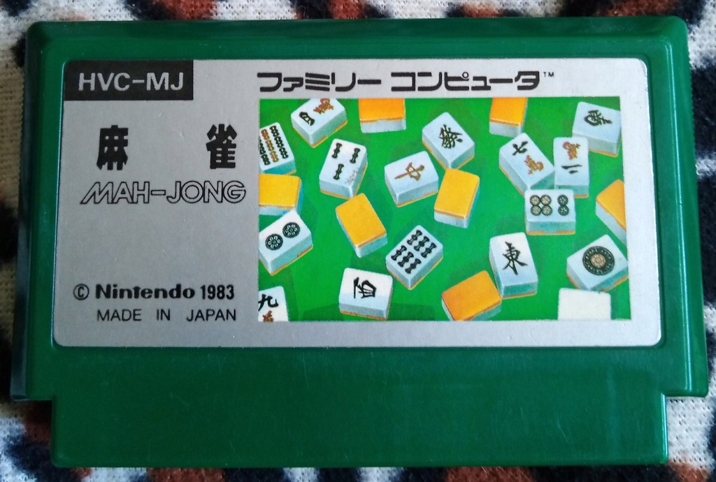 Kartridż (Cartrigde) Famicom Mah-Jong: