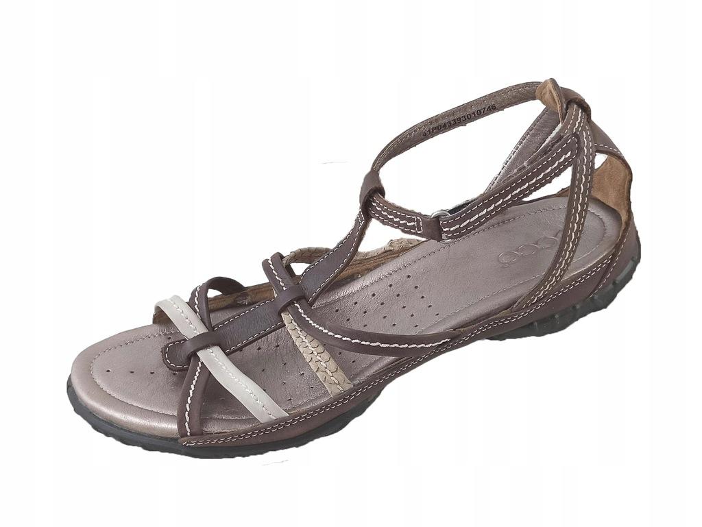 Sandały DAMSKIE ECCO skóra roz 41 - 26,5 cm a8775