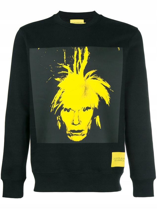 Bluza Calvin Klein Jeans Andy Warhol Nowa Metki 8126546600 Oficjalne Archiwum Allegro