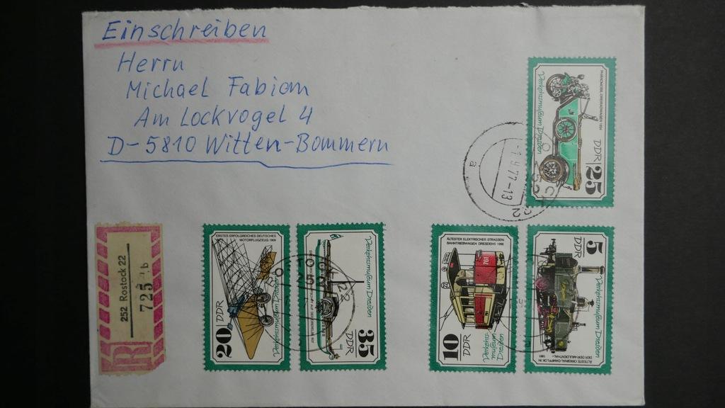 Niemcy NRD całość pocztowa 1997 r.(18)