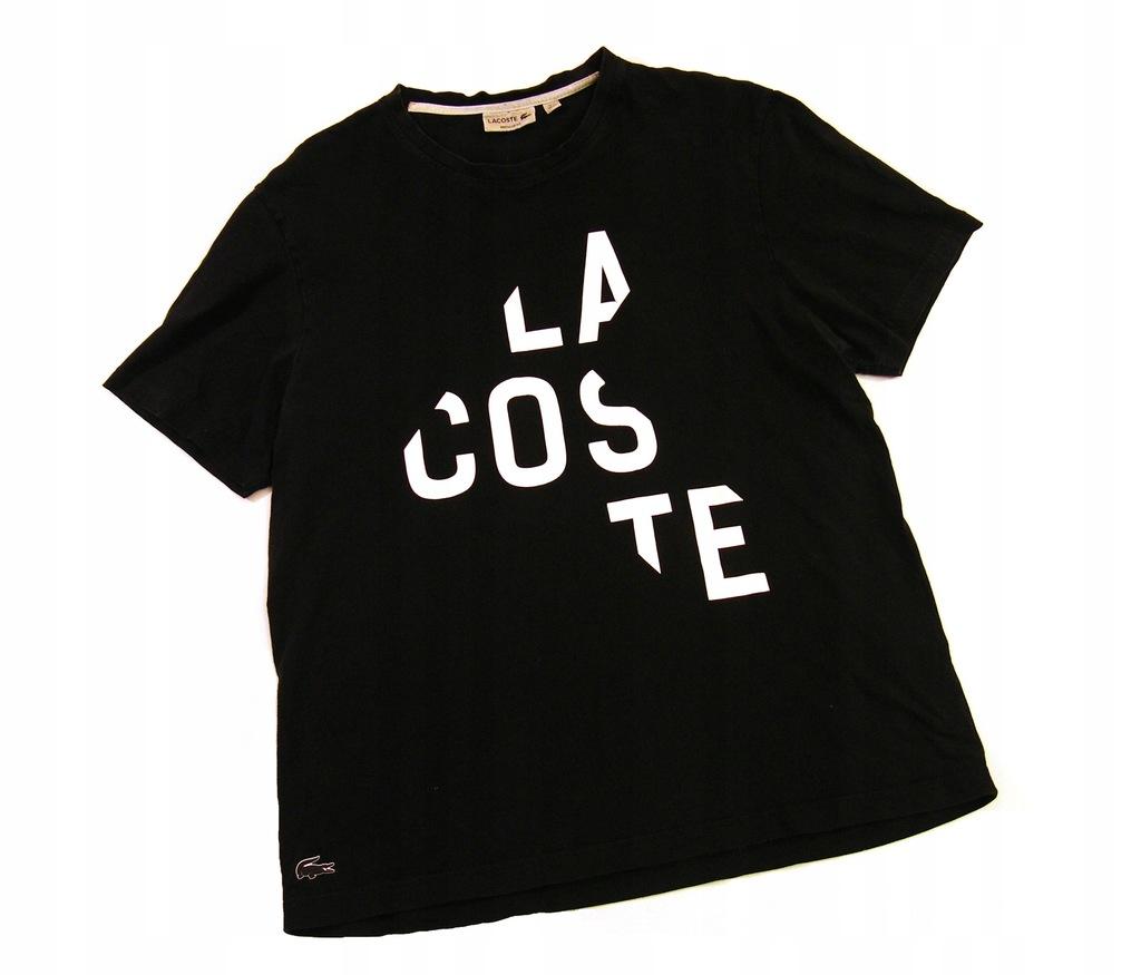 LACOSTE_Bawełniany T_shirt rozm. XXL