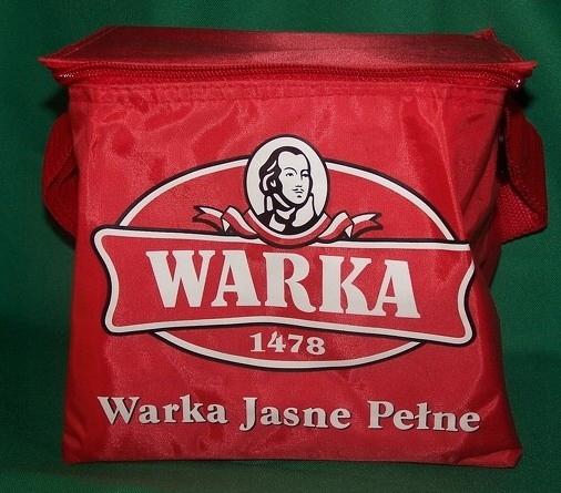 NOWA torba termiczna na piwo WARKA mieści 6 piw