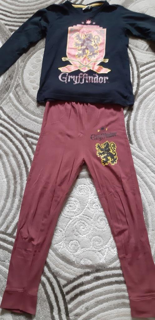 piżama chłopięca 122/128 Harry Potter Gryffindor