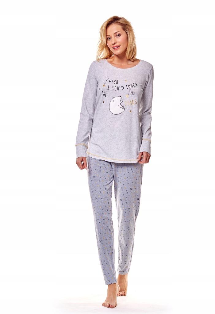 Piżama Mimi 36160-09X Szara