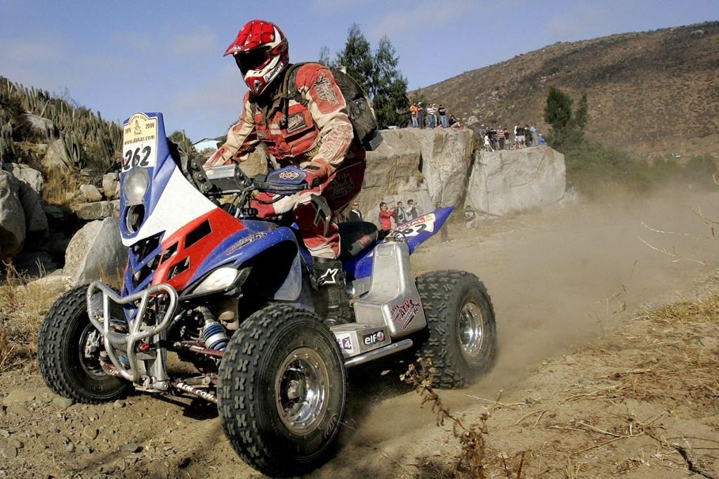Dakarowy Quad Rafała Sonika (Yamaha Raptor 700)