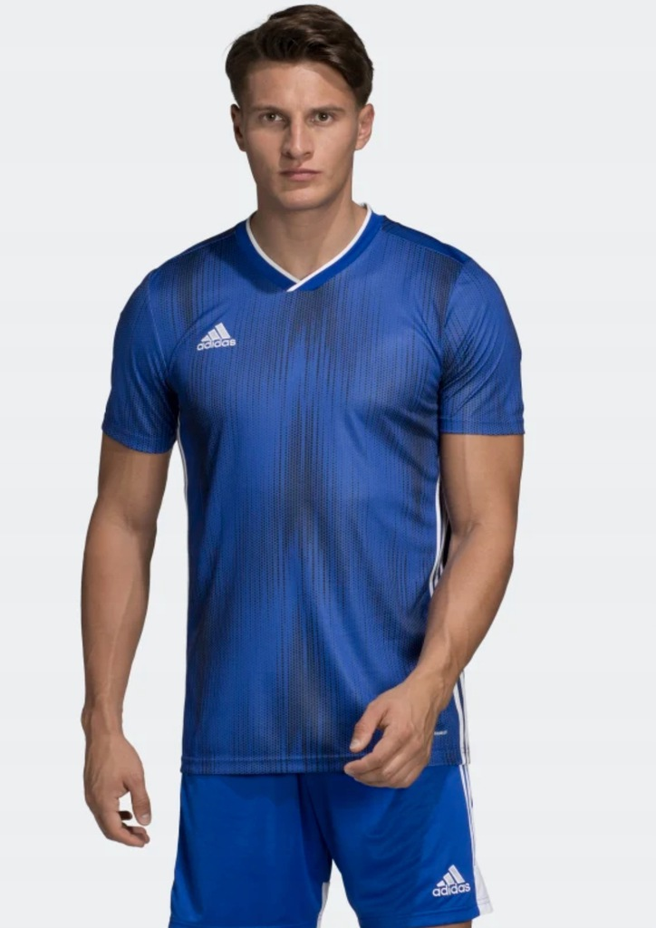 Adidas TIRO 19 t-shirt sportowy niebieski M
