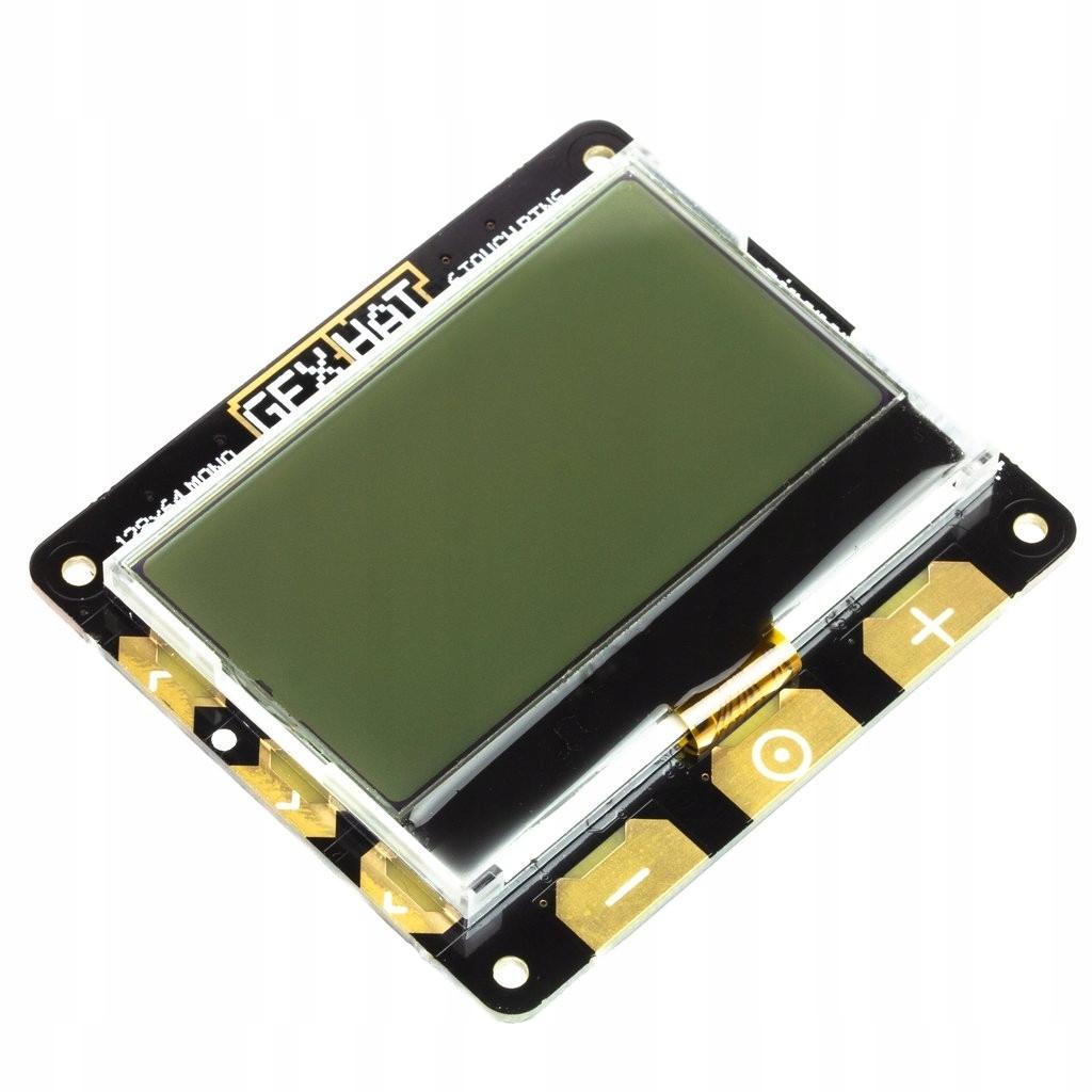 PiMoroni GFX Hat - moduł z wyświetlaczem LCD 2,15'