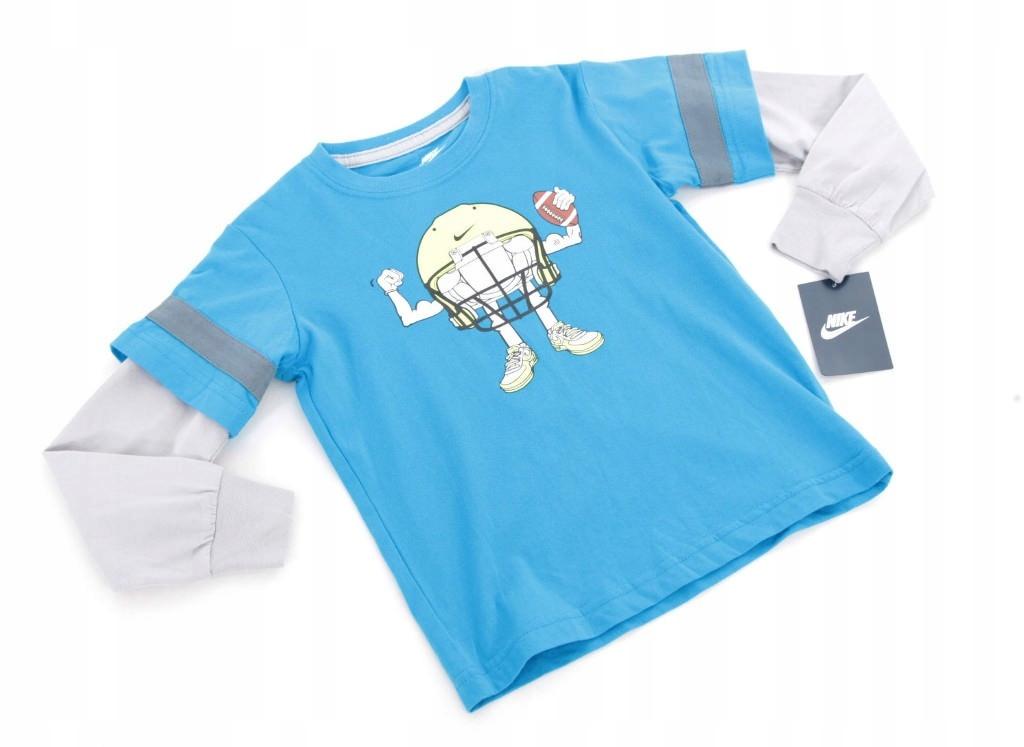 Komplet t-shirt spodnie NIKE 4 lata 98-104 cm