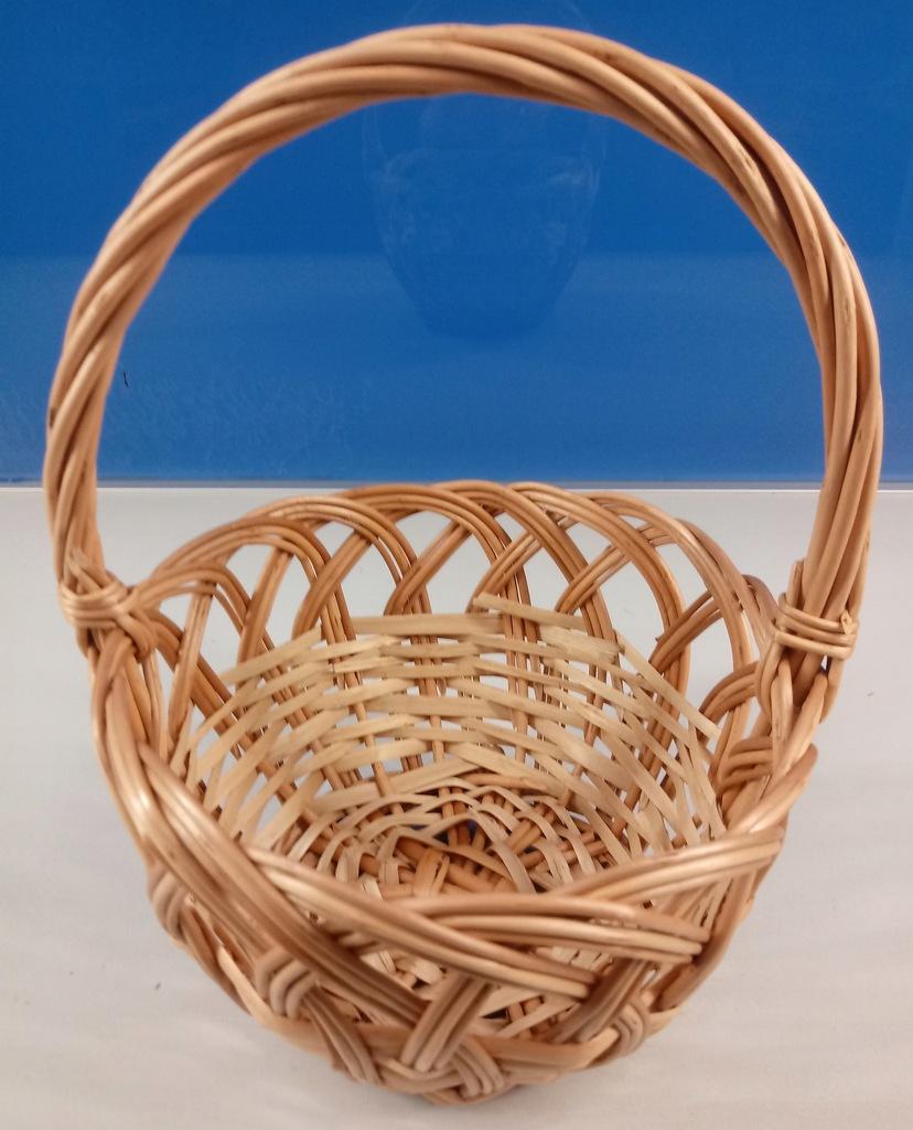 Koszyk Na Swieconke Wielkanocny Wiklinowy Okragly 7918817401 Oficjalne Archiwum Allegro