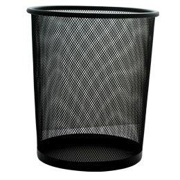 Kosz na śmieci czarny (p253)