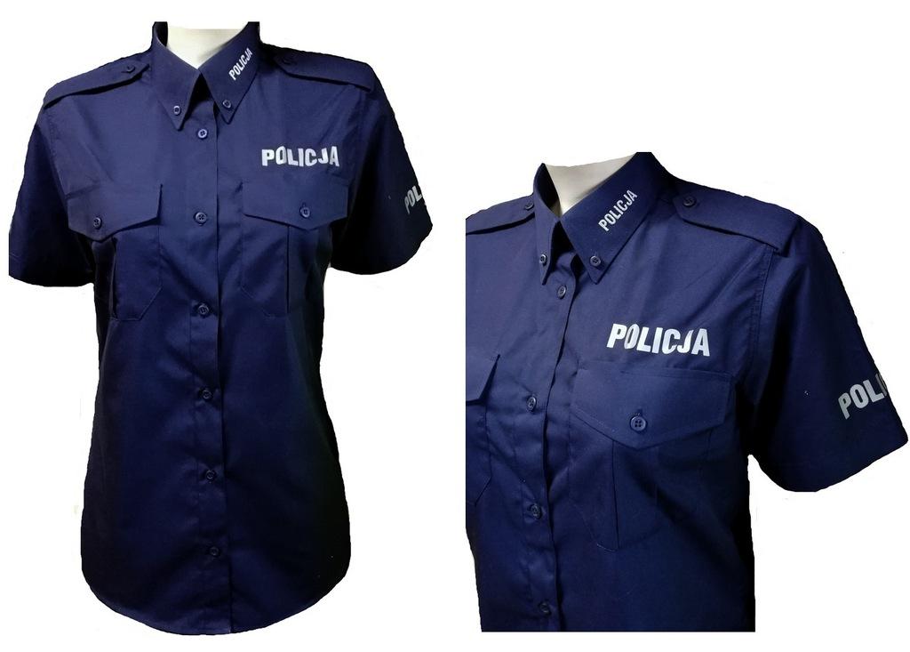 Koszula policyjna Damska długi rękaw ROZMIARY ! Ostrów  ys8k8