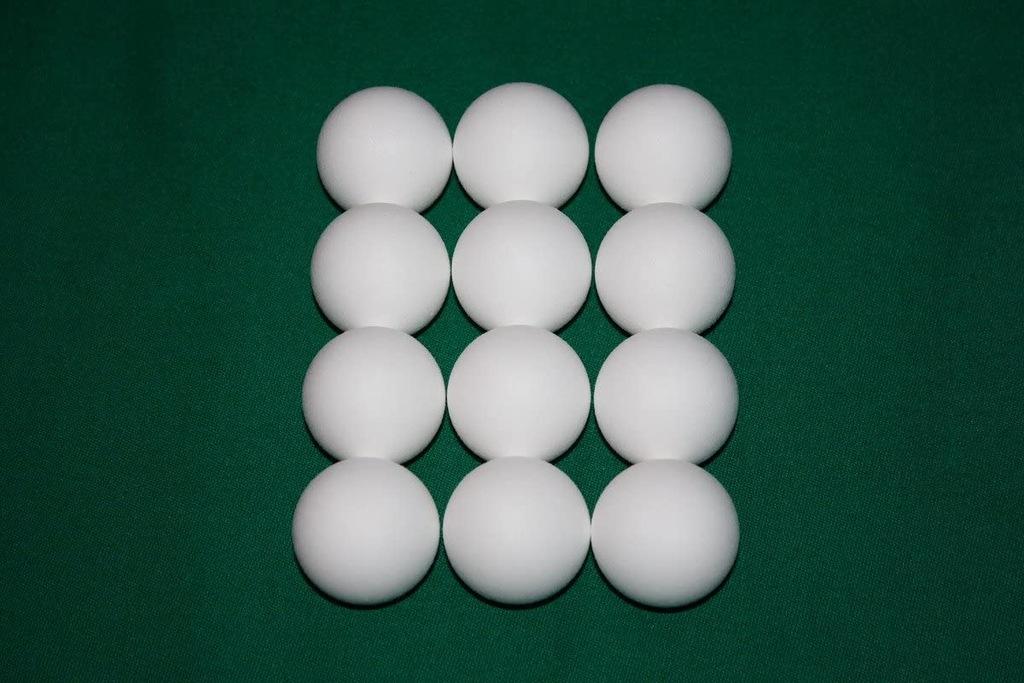Piłeczki do piłkarzyków, standardowe 8szt AS675