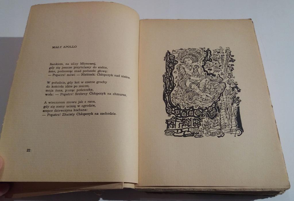 Gałczyński Wiersze Ilustracje I Okładka Jan Knothe