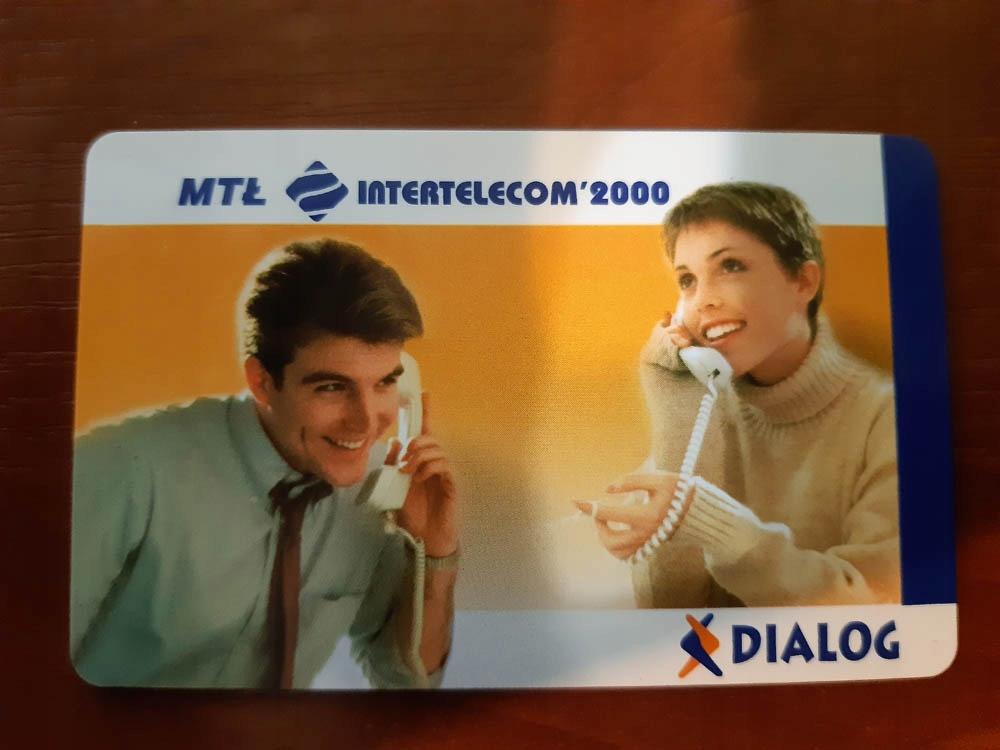 Karta telefoniczna DIALOG.