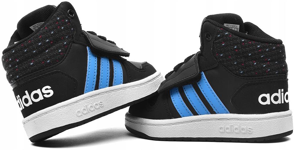 ADIDAS HOOPS 2.01 Buty dziecięce za kostkę r.26