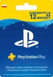 PLAYSTATION PLUS 365 DNI SUBSKRYPCJA / PL