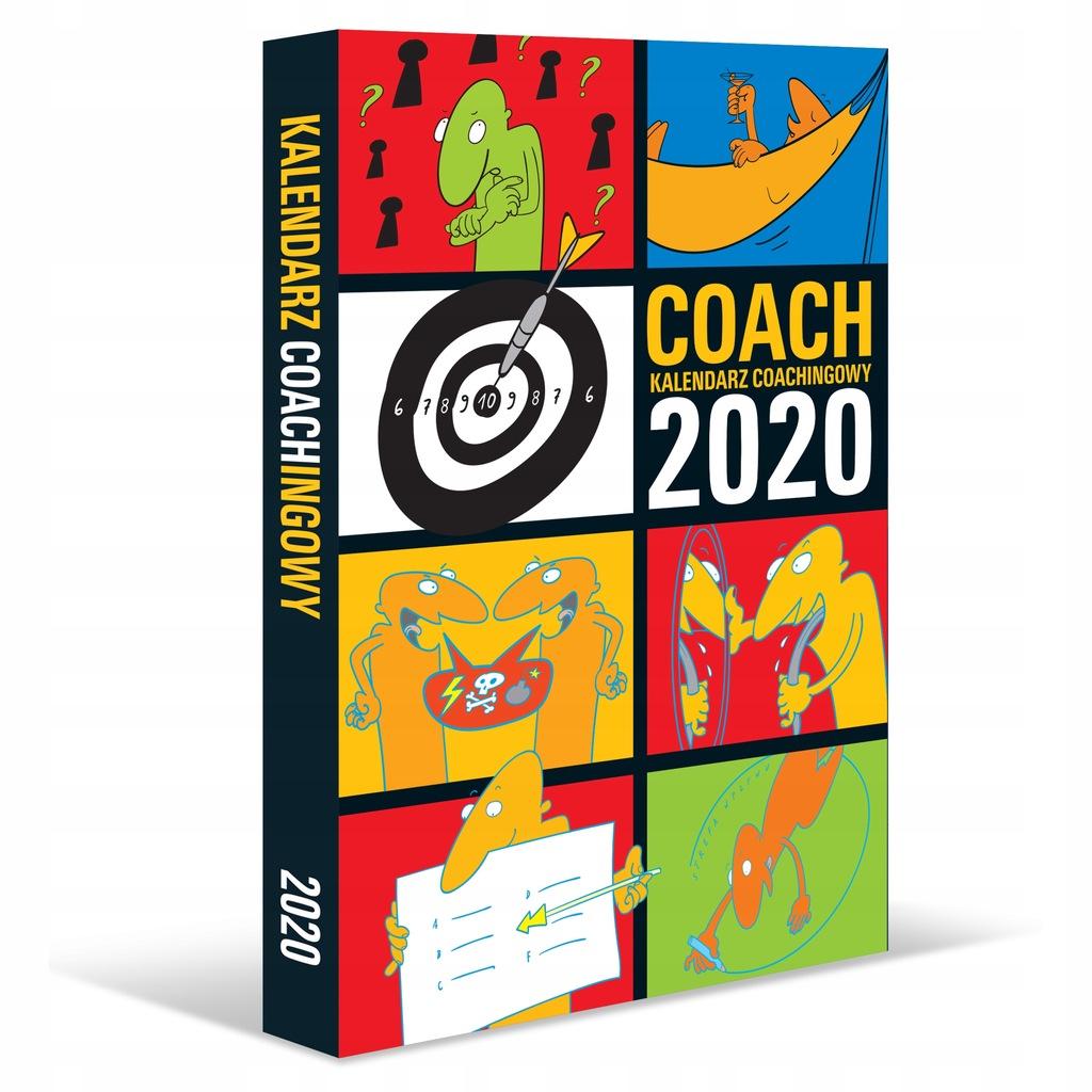 kalendarz książkowy coachingowy COACH 2020