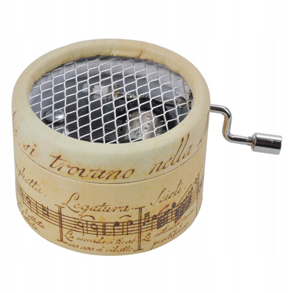 Mini Hollow Hand Shake Box Wzór notacji muzy