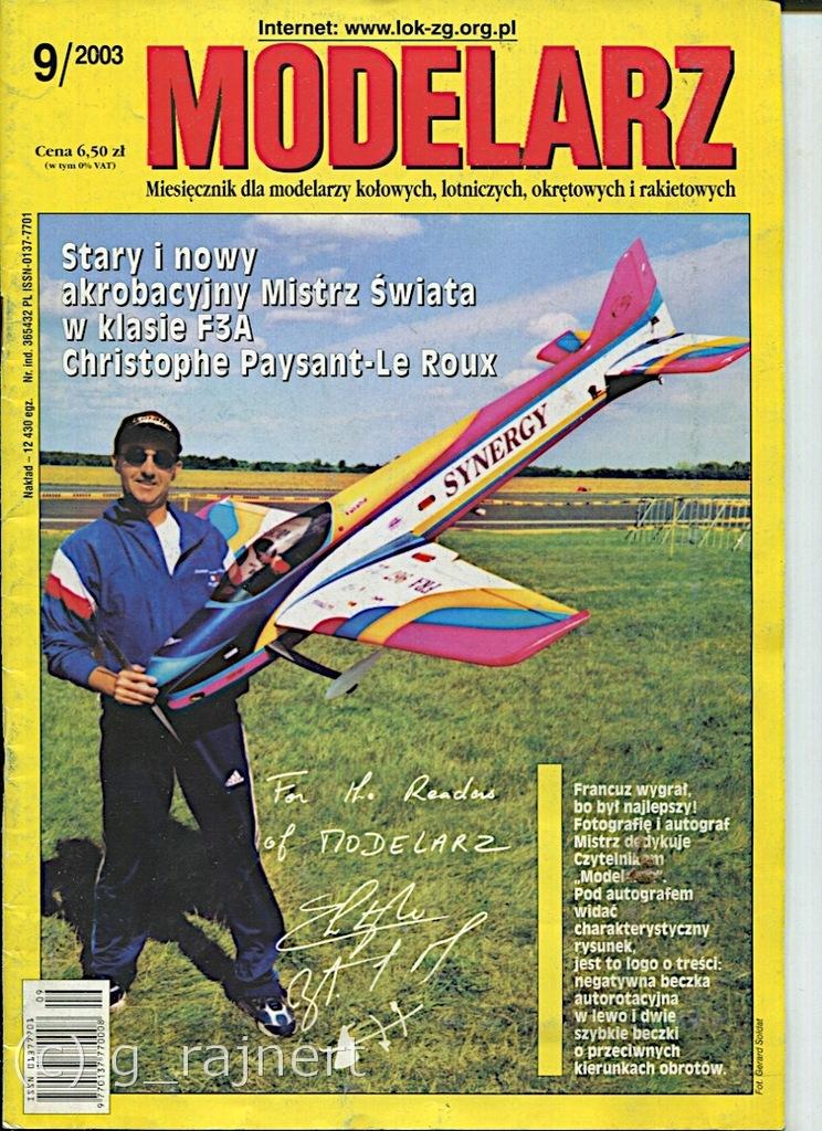 Modelarz 9/2003 Korweta Elisabeth, SH-2G Seasprite
