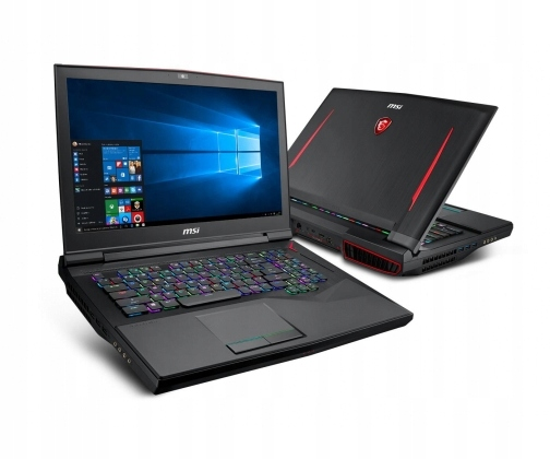 OUTLET MSI GT75 i9-8950HK 32GB 512PCIe+1TB Win10