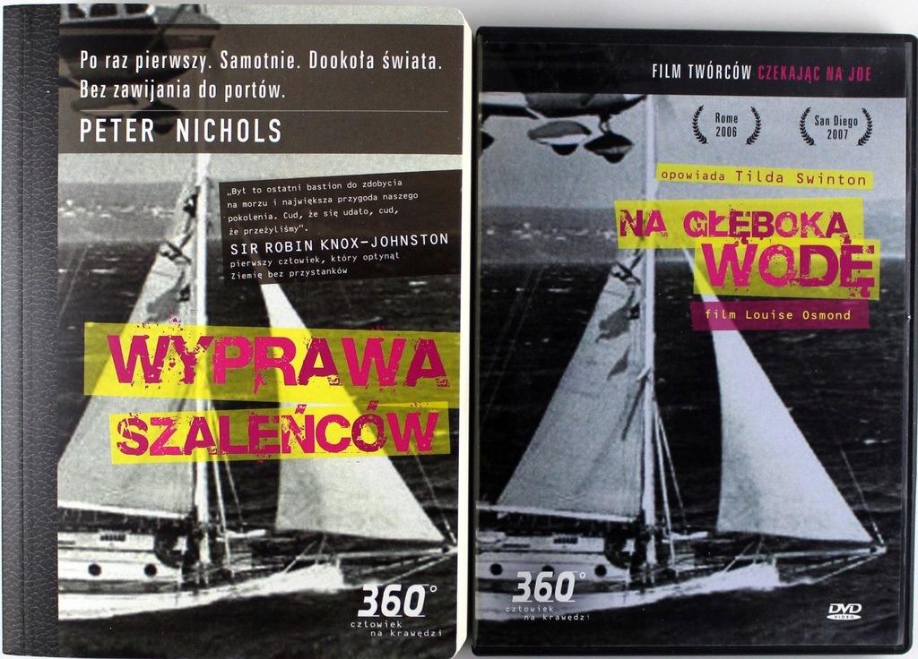 WYPRAWA SZALEŃCÓW (DVD)+(KSIĄŻKA)