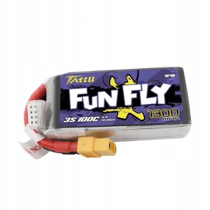 AKUMULATOR LiPo 1300mAh 11.1V 100C Funfly Series G