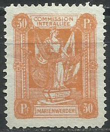 1920 PLEBISCYTY - KWIDZYN Fi 6*
