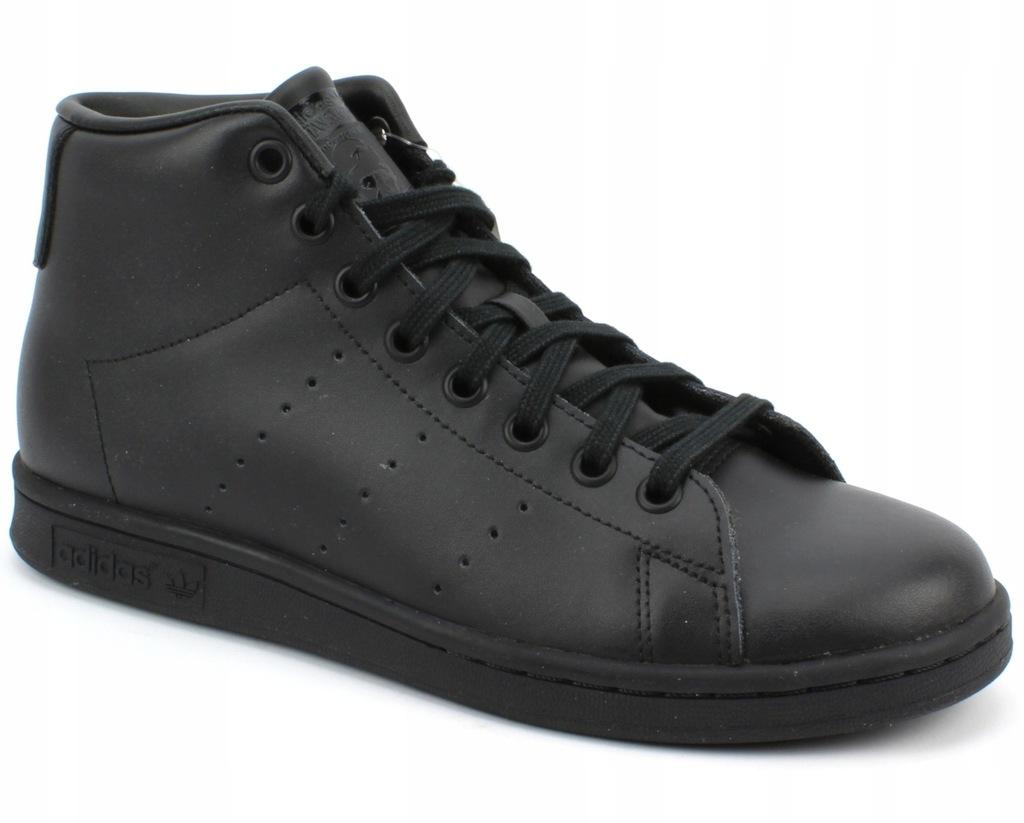 Adidas Stan Smith Mid J r. 38 23 czarne buty