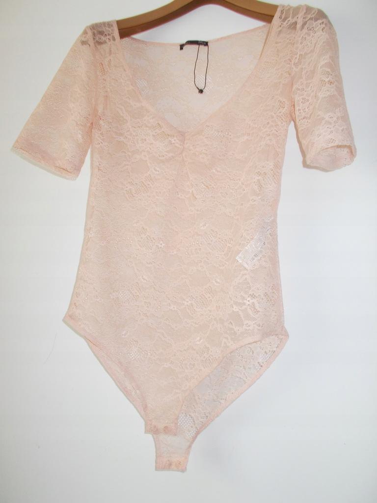 Body/bluzka - ZARA koronka rozmiar L ( 40 )
