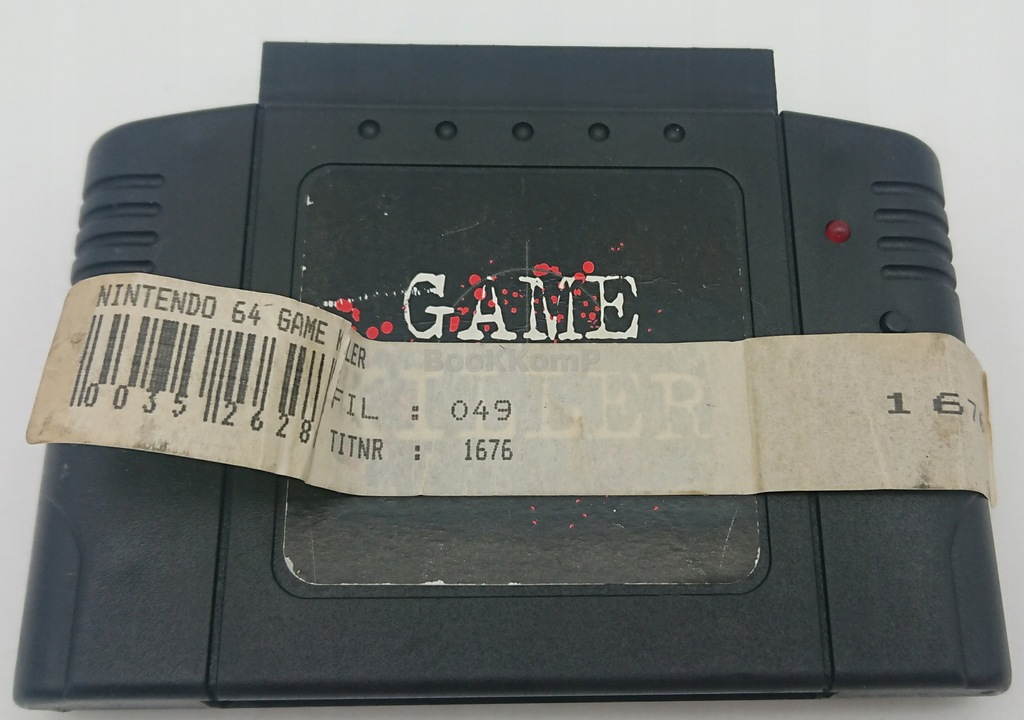 GAME KILLER CHEAT CODE CARTRIDGE MARIO Nintendo 64