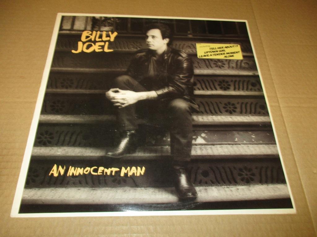 BILLY JOEL AN INNOCENT MAN LP 1983 HOLLAND NM