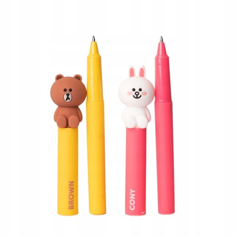 Line Friends - Długopis z figurką 3D (wybór losowy