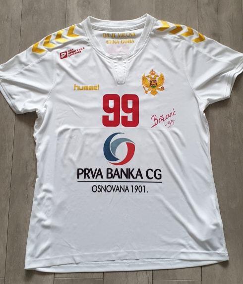 Koszulka Ivana Bozovic CZARNOGÓRA