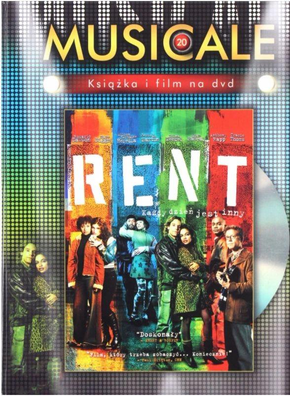 Dvd: RENT (2005) Rosario Dawson MUSICALE 20