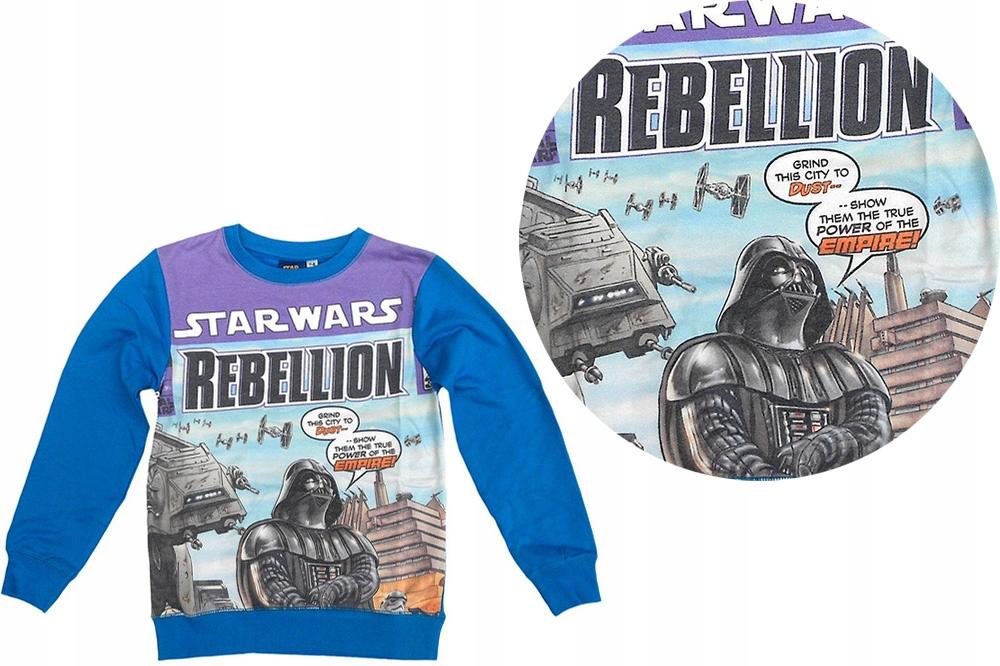 Bluzka Ocieplana Bluza Rebelion Star Wars 140 146