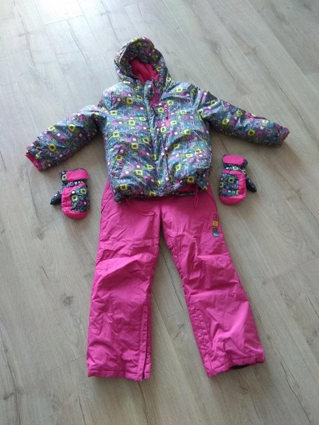 komplet dziecięcy narciarski -122 Cocodrillo