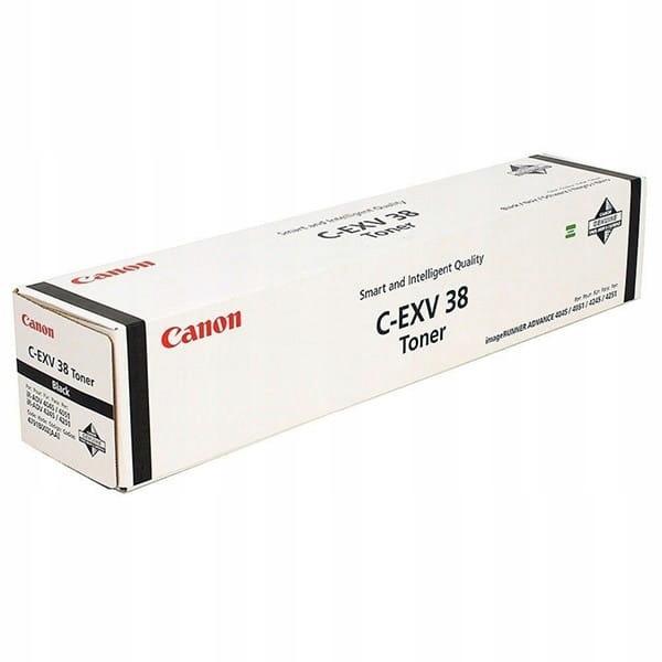 Canon oryginalny toner CEXV38, black, 34200s, 4791
