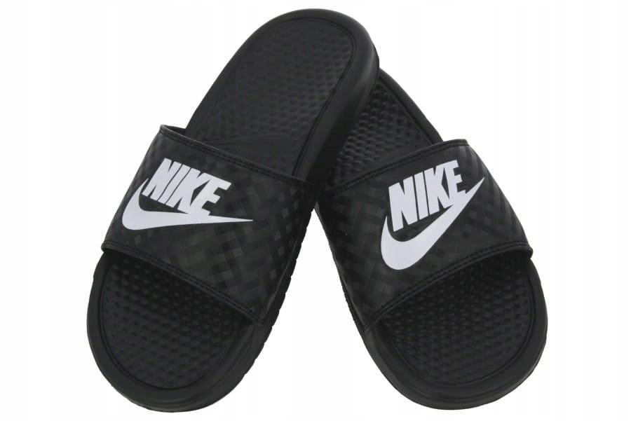 Klapki Nike Benassi Just Do It 34381 CZARNY 35 1/2
