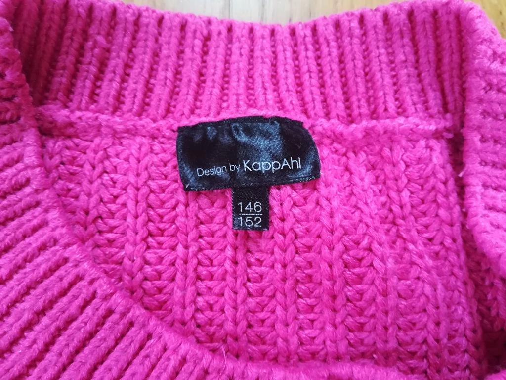 Świetny różowy sweter KappAhl w rozm. 146 / 152