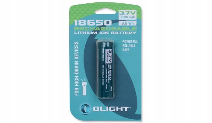 Olight - Akumulator Li-Ion - 18650 3,7V 2600 mAh