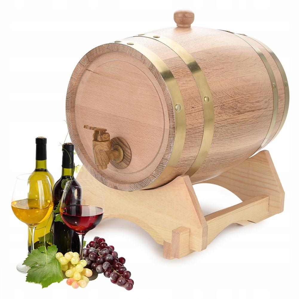 Beczka na wino dębowe 5L