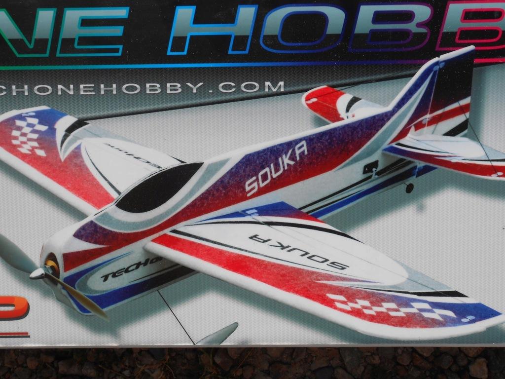 Techone Hobby R/C Souka EPP 3D Electric Aircraft