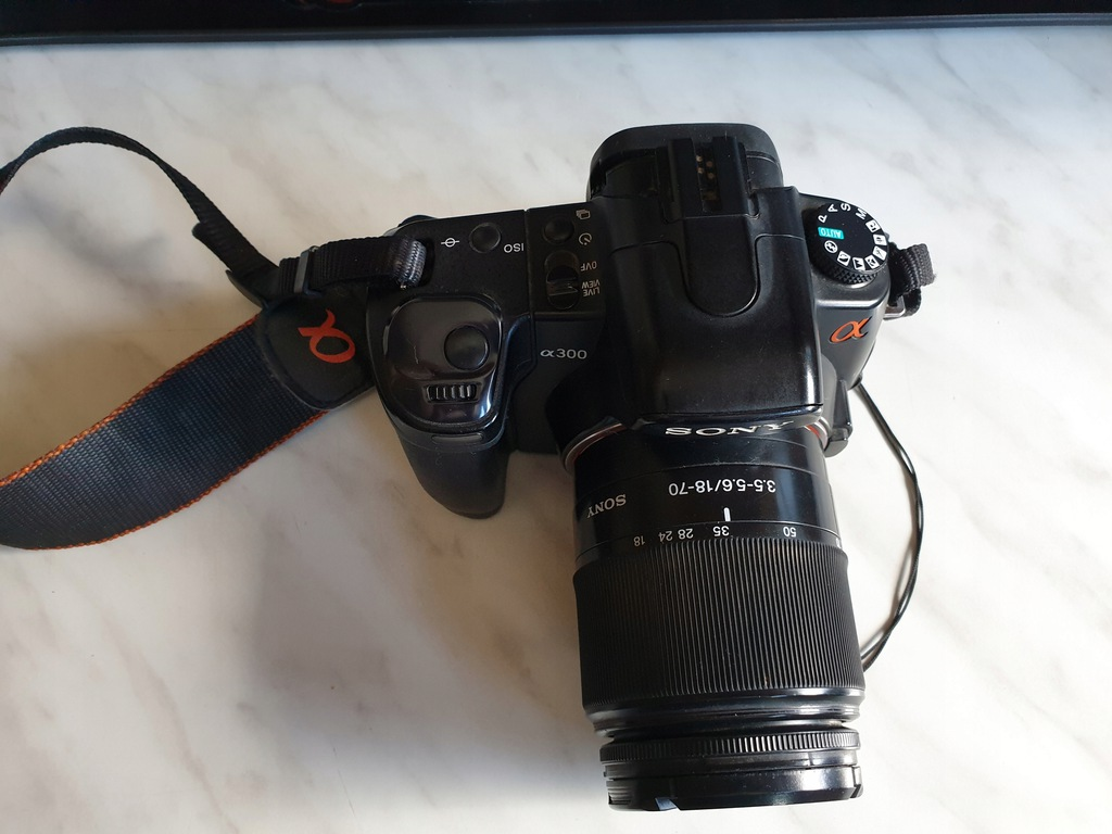 Aprat foto Sony Alfa 300