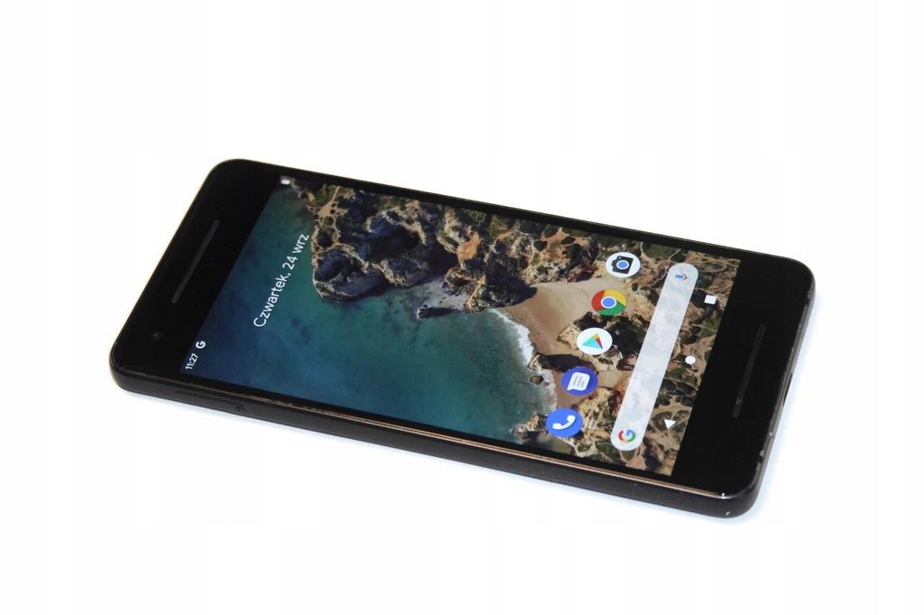 Google Pixel 2 128Gb - Black , Gwar , Grade A-