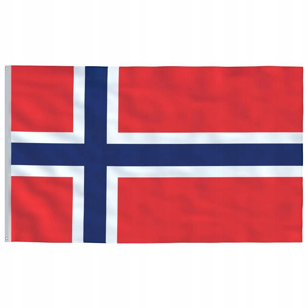 Flaga Norwegii 90x150 cm
