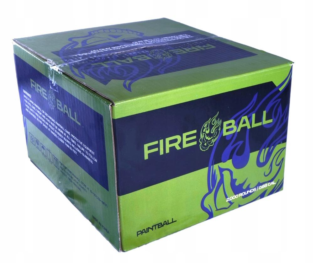 Kulki Paintball FIREBALL BASIC 500szt*JAKOŚĆ