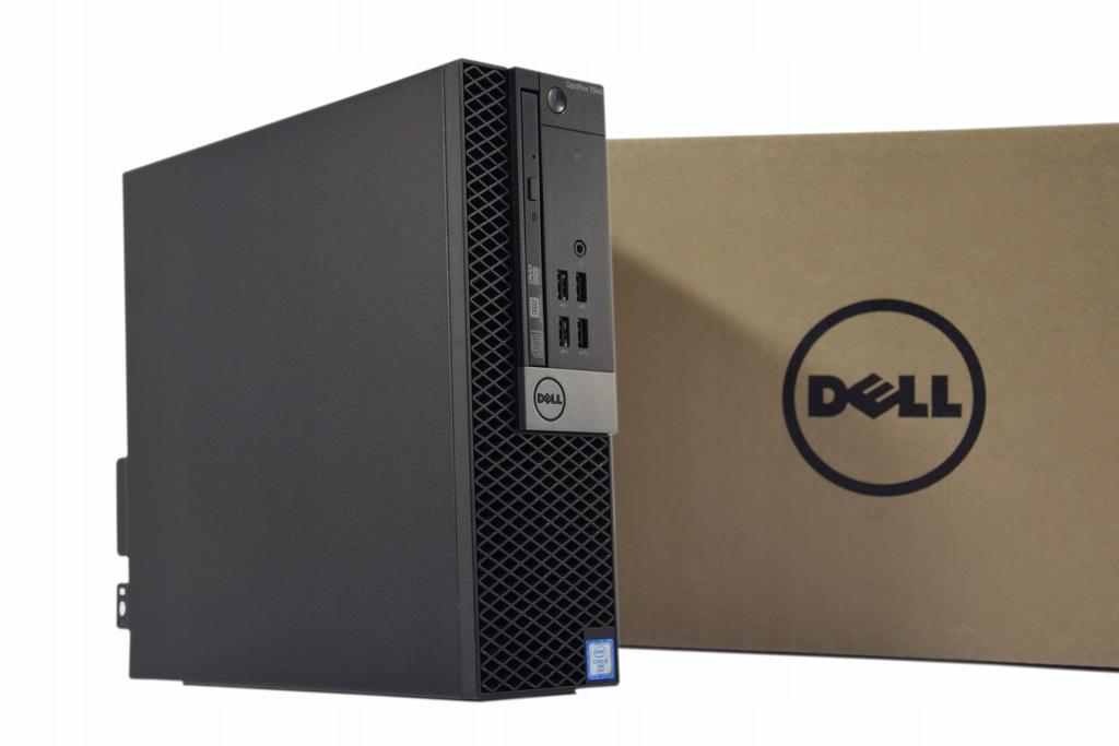 DELL 7040 SFF i5-6500 8GB 256SSD RW W10 GW24