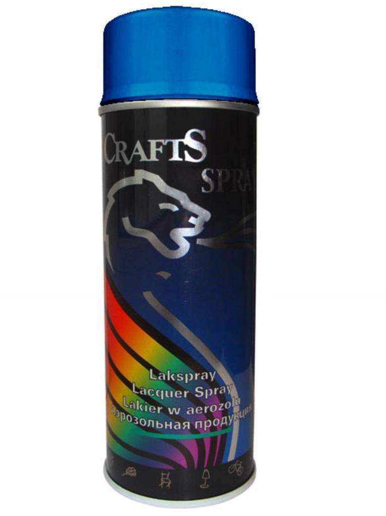 Lakier Crafts 400ml, RAL 5015 niebieski
