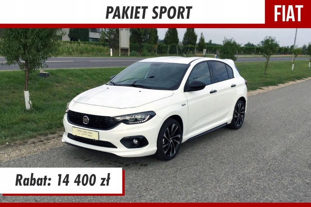Fiat Tipo Sport 1 4 120km Kamera Cofania Czujniki 8909360154 Oficjalne Archiwum Allegro