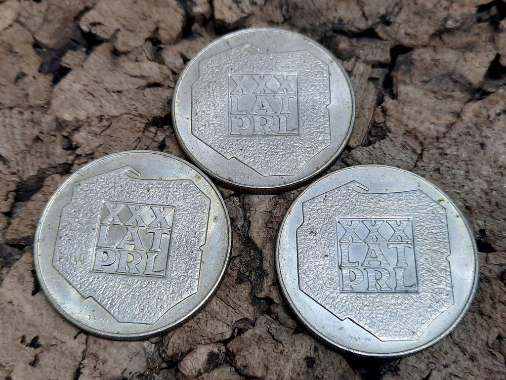 200 zł XXX Lat PRL 1974 - 3 szt